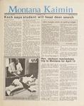 Montana Kaimin, April 3, 1987
