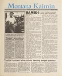 Montana Kaimin, April 8, 1987
