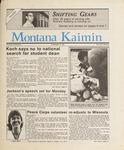 Montana Kaimin, April 10, 1987