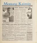 Montana Kaimin, April 14, 1987