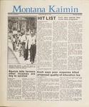 Montana Kaimin, April 15, 1987