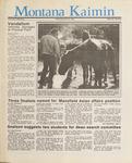 Montana Kaimin, April 22, 1987