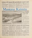 Montana Kaimin, April 23, 1987