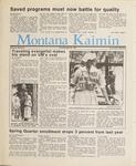 Montana Kaimin, April 30, 1987