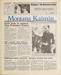 Montana Kaimin, May 8, 1987
