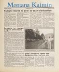 Montana Kaimin, May 12, 1987