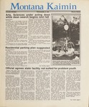 Montana Kaimin, May 13, 1987