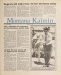 Montana Kaimin, May 15, 1987