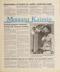 Montana Kaimin, May 19, 1987
