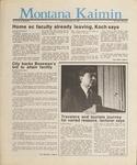 Montana Kaimin, May 20, 1987