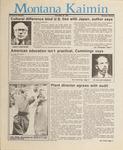 Montana Kaimin, May 29, 1987