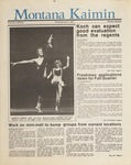 Montana Kaimin, June 3, 1987