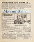 Montana Kaimin, June 5, 1987