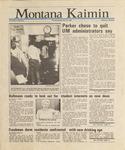 Montana Kaimin, September 24, 1987