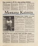 Montana Kaimin, September 25, 1987