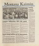 Montana Kaimin, September 29, 1987