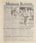 Montana Kaimin, October 1, 1987