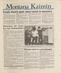 Montana Kaimin, October 2, 1987
