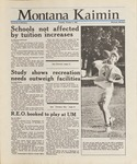 Montana Kaimin, October 6, 1987