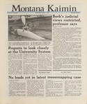 Montana Kaimin, October 7, 1987
