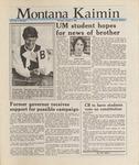 Montana Kaimin, October 8, 1987