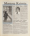 Montana Kaimin, October 9, 1987
