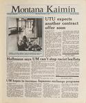 Montana Kaimin, November 4, 1987