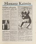 Montana Kaimin, November 5, 1987