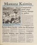 Montana Kaimin, November 10, 1987