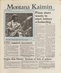 Montana Kaimin, November 11, 1987