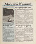 Montana Kaimin, November 12, 1987
