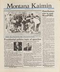 Montana Kaimin, November 13, 1987
