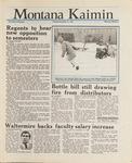 Montana Kaimin, November 17, 1987