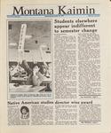 Montana Kaimin, November 25, 1987