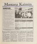 Montana Kaimin, December 3, 1987