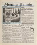 Montana Kaimin, January 6, 1988