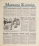 Montana Kaimin, January 7, 1988