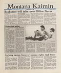 Montana Kaimin, January 8, 1988