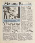 Montana Kaimin, January 14, 1988