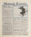 Montana Kaimin, January 15, 1988