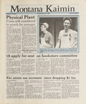 Montana Kaimin, January 21, 1988
