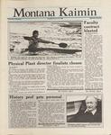 Montana Kaimin, January 26, 1988