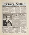 Montana Kaimin, January 27, 1988