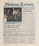 Montana Kaimin, January 28, 1988