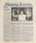 Montana Kaimin, January 29, 1988