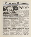 Montana Kaimin, February 2, 1988