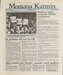 Montana Kaimin, February 9, 1988