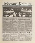 Montana Kaimin, February 19, 1988