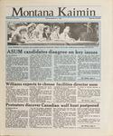 Montana Kaimin, March 2, 1988