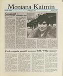 Montana Kaimin, March 3, 1988